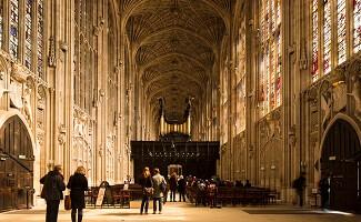 La capilla del King's College, Cambridge