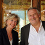 Brigitte de Turckheim-Cachart and Eric Cachart