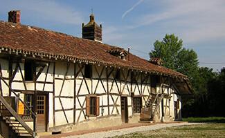 Die Bauernhöfe der Bresse