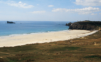 La spiaggia di Touesse