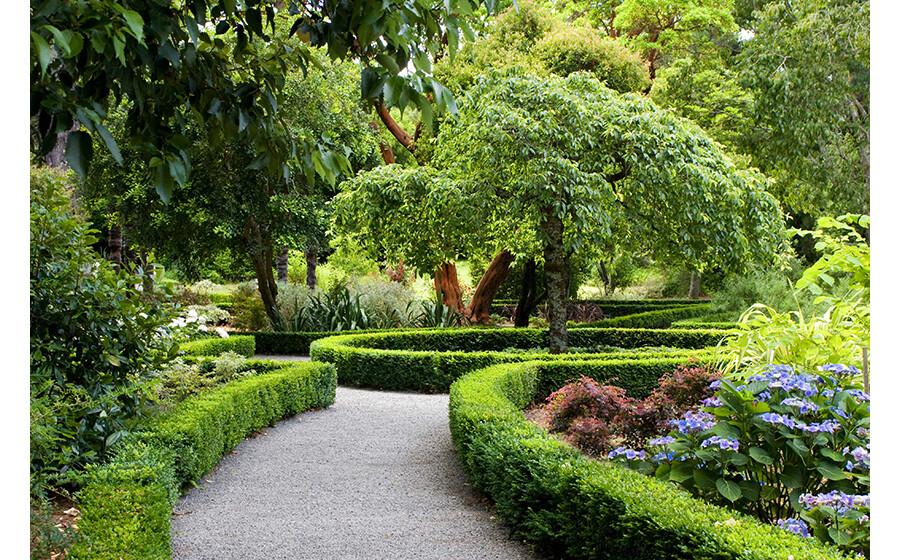Jardins notáveis