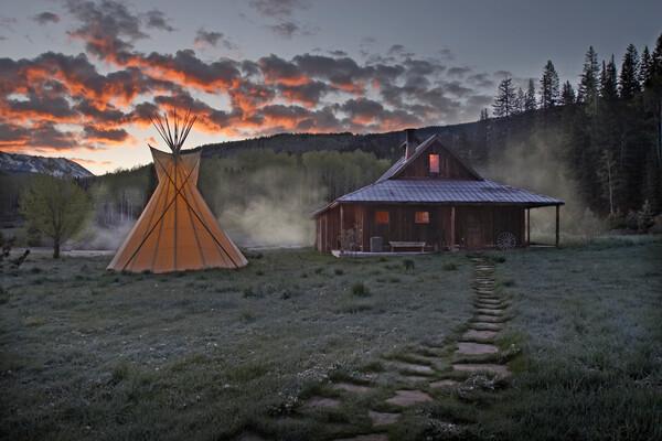 Dunton Hot Springs, Colorado, USA