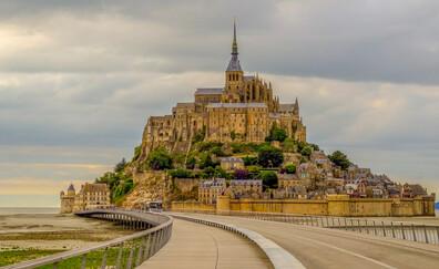 La traversata guidata della baia di Mont-Saint-Michel