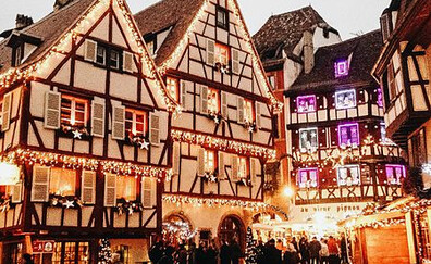Colmar, the town with 5 Christmas markets