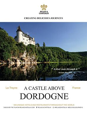 A castle above Dordogne