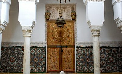 Visit to the mausoleum of Moulay Ismail (Meknes)