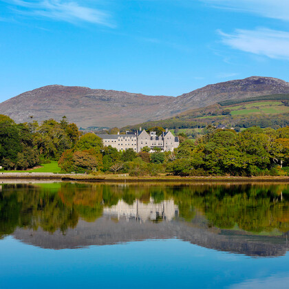 On your tour of Kenmare Bay there are wonderful views of the
