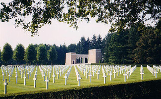 Remembering the fallen at the Oise-Aisne American Cemetery (Seringes-et-Nesles)