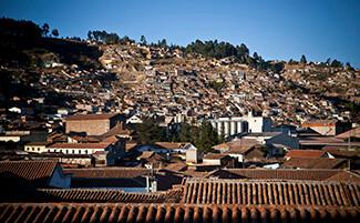 Marcher dans la vieille ville de Cusco