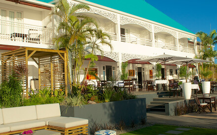 Blue Margouillat Seaview Hotel