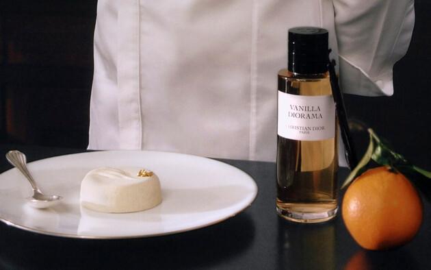 Vanilla Diorama, un gâteau pour un parfum