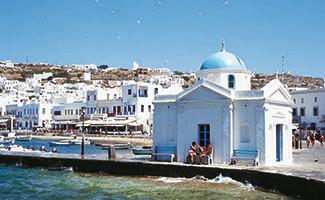 «Petros» le pélican, Mykonos
