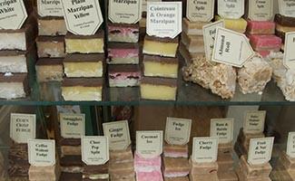 Les bonbons de Murdick's Fudge