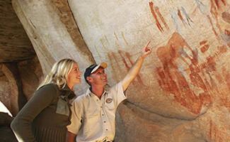 A arte rupestre de Cederberg