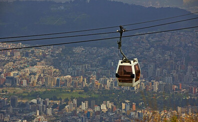 The TelefériQo to the top of Quito