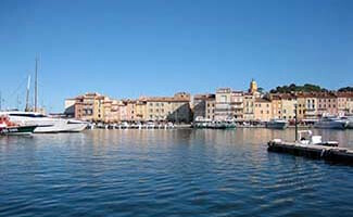 Saint-Tropez, village and port