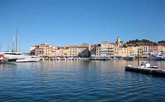 Saint-Tropez, village and port
