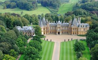 Waddesdon Manor, residenza di campagna della famiglia Rothschild