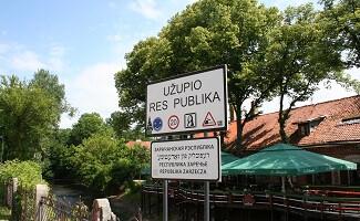 Uzupis District, Vilnius