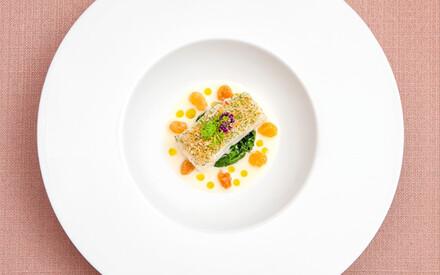 Fish Unknown |Chef Stéphane Décotterd, |Restaurant Le Pont de Brent, Switzerland