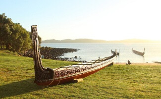 Einen Tag in Waitangi Treaty Grounds