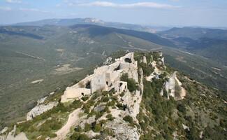 Os castelos de Termes e Peyrepertuse