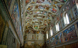 See The Creation of Adam and The Final Judgment, Vatican
