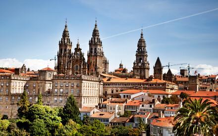 El Camino de Santiago a través del norte de España