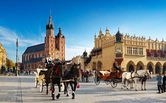 Flâner le long de la « Voie royale », Cracovie