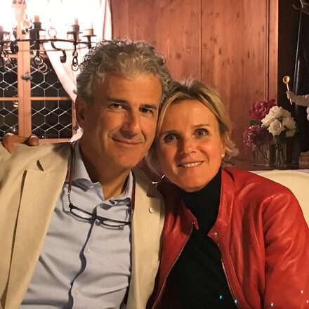 Hugo and Cinzia Bernardi