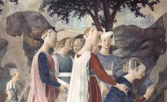 Discover the frescoes of Pierro della Francesca (Cappella Bacci, Arezzo)
