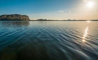 Pagayer sur le lac Moosehead