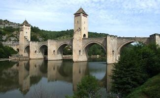 Die mittelalterliche Stadt Cahors