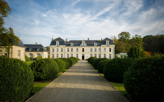 Le Château de Courcelles a profité du printemps pour se refaire une beauté