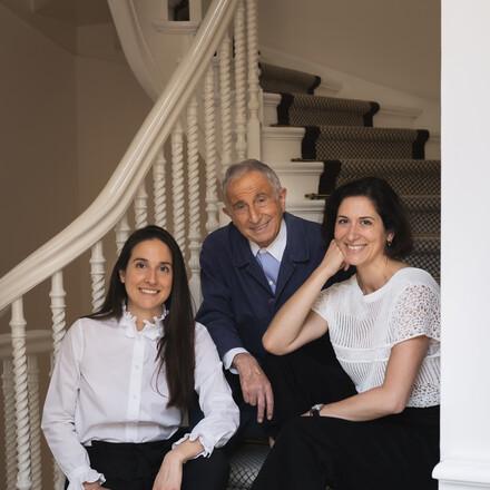 Michel, Adeline et Eléonore Guérard