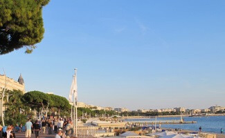 Cannes and the Croisette