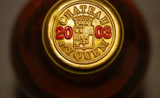 Sauternes, prestigiosa D.O.C.