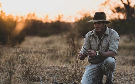 Follow Boyd Varty in his |40 days & 40 nights trip