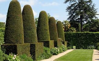 "The garden ""rooms"" of Hidcote Manor"