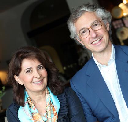 Edmondo et Alessandra Segre