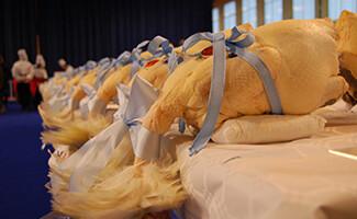 Die Glorieuses de Bresse: Feier der Poularden