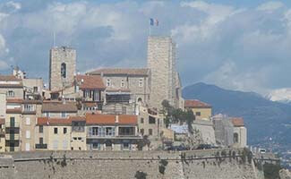 Antibes Old Town, its ramparts and castle