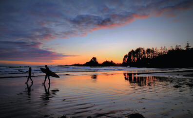 Tofino, the surfing capital of Canada