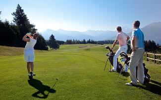 Golf mit Aussicht, Crans-Montana