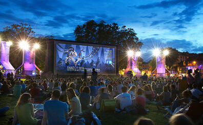 See films in the open air (Annecy International Animated Film Festival)