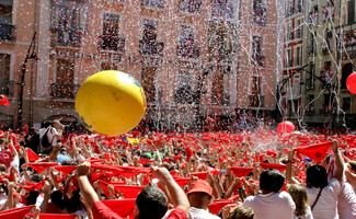 Las fiestas de San Fermín