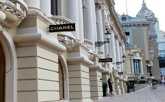 Shopping in Monte Carlo, around the luxury hotels