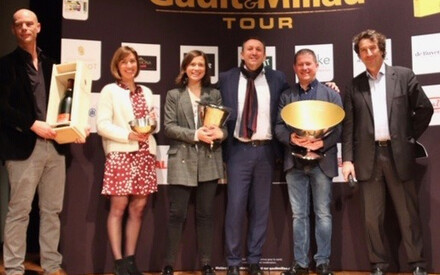 Gault & Millau Gold Trophy 2019 - Frédéric Doucet awarded at Charolles
