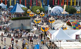 La Place des Festivals, Montréal