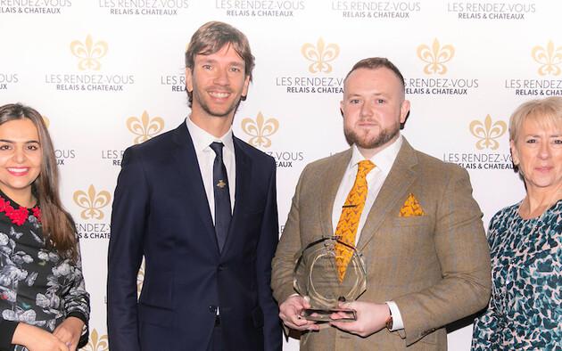 Acqua Panna & San Pellegrino Rising Chef Trophy : Niall Keating Whatley, Manor Hotel & Spa , Royaume-Uni